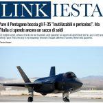 """Pure il Pentagono boccia gli F-35 """"inutilizzabili e pericolosi"""". Ma l'Italia ci spende ancora un sacco di soldi"""