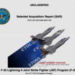 F-35, costi in aumento del 7% e occupati metà del previsto