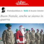 Buon Natale, anche se siamo in guerra
