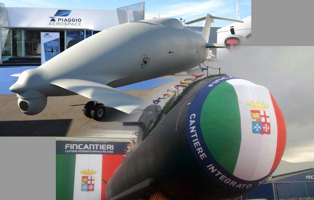 Altri due U-212 per la Marina e 20 droni P2HH per l'Aeronautica per 1,8 miliardi di Euro