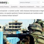 Forze Armate, le anomalie delle missioni all'estero: necessarie per l'intero sistema militare?