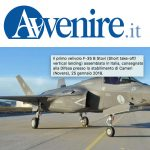 L'Italia ha ordinato altri 8 cacciabombardieri F-35